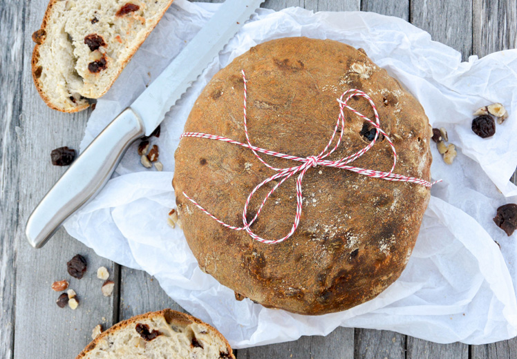 Cherry-Hazelnut Bread