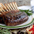 Rack of Lamb with Pomegranate-Coffee Sauce