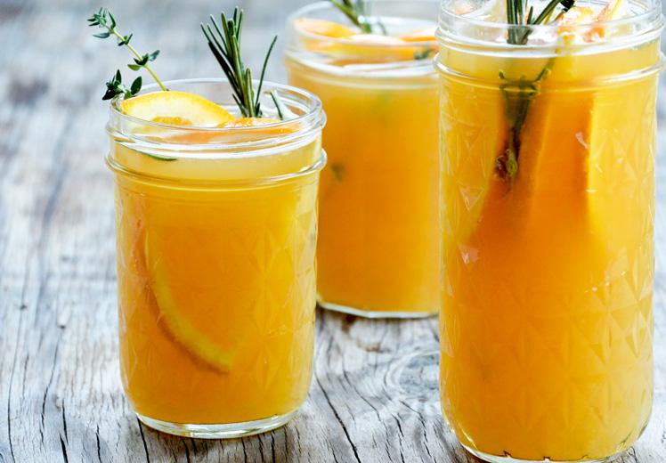 Wheat Ale and Orange Sangria