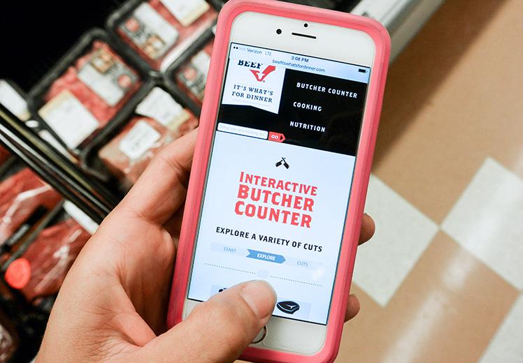 Interactive-Butcher-Counter
