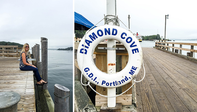 Great Diamond Island, Maine | Camp Gathering ME | www.floatingkitchen.net