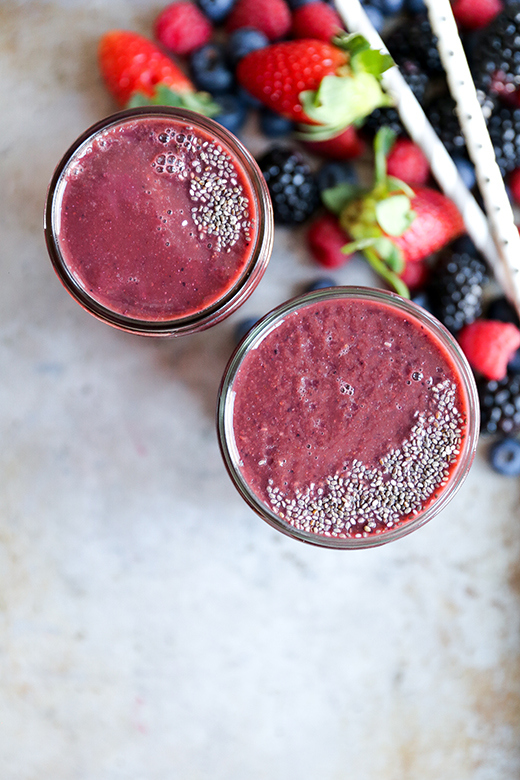 Berry-Beet Smoothie | www.floatingkitchen.net