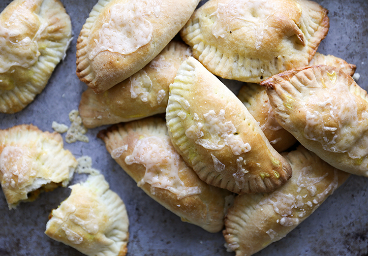 Sweet Potato, Apple and Chickpea Empanadas