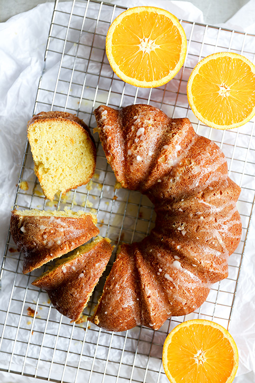 Browned Butter Whole Orange Cake | www.floatingkitchen.net