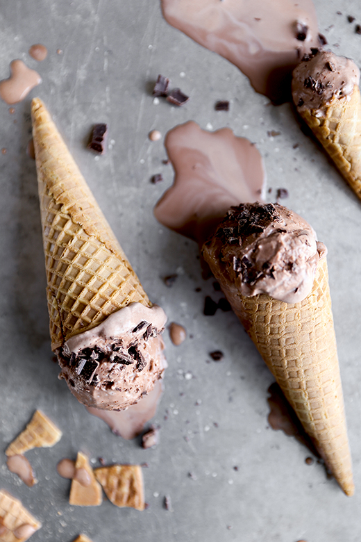 Chocolate Stout Ice Cream | www.floatingkitchen.net