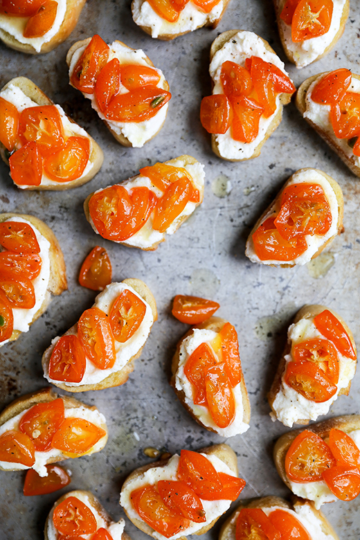 Spicy Kumquat and Whipped Ricotta Crostini | www.floatingkitchen.net