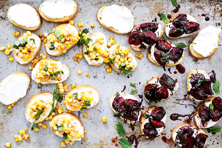 Summer Bruschetta: Two Ways