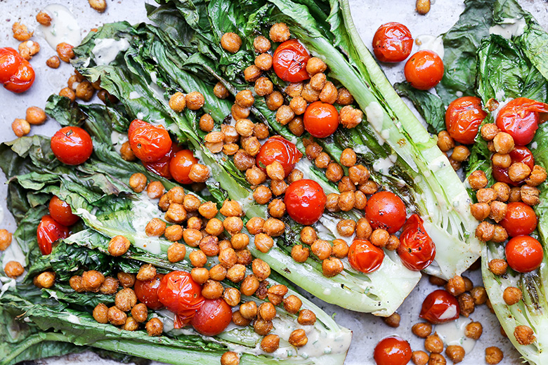 ... Salad with Roasted Chickpeas and Tomatoes | The Floating Kitchen