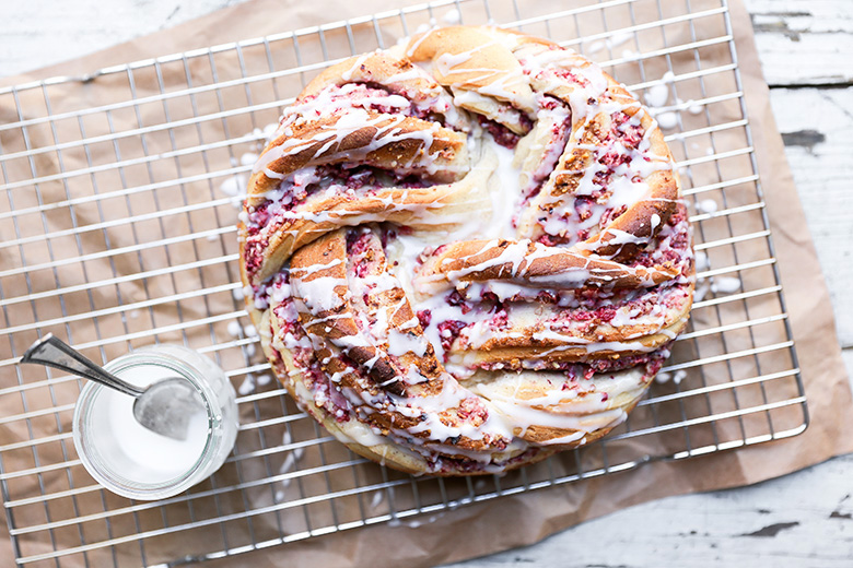 Cranberry Pecan Braided Bread