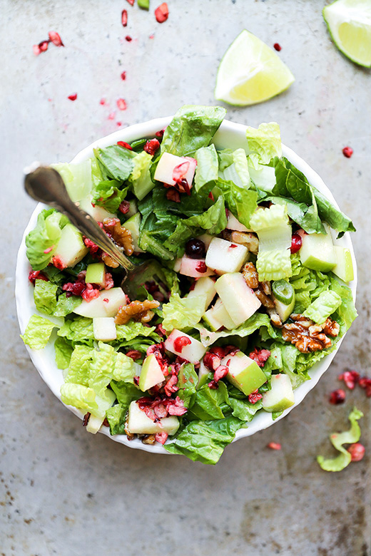 Cranberry Apple Salad | www.floatingkitchen.net