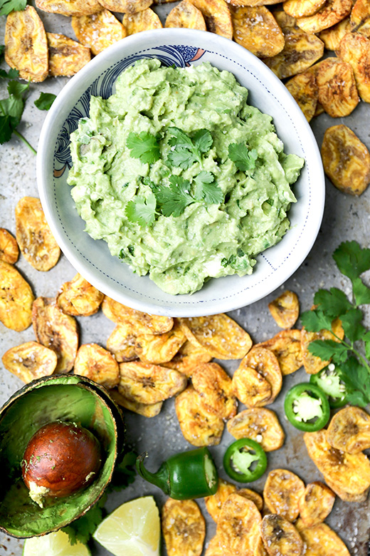 how to make baked plantain chips