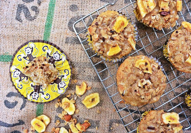 Banana Crunch Muffins