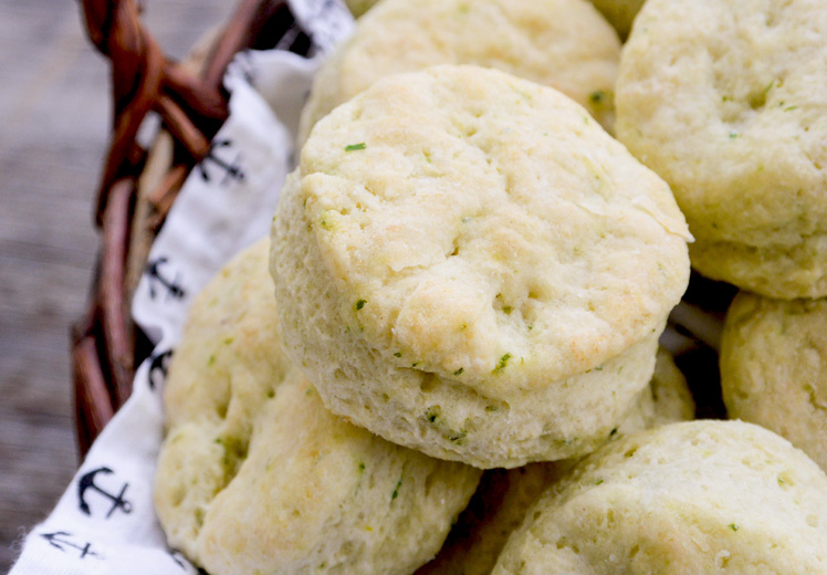 Buttermilk Biscuits with Brie and Chives