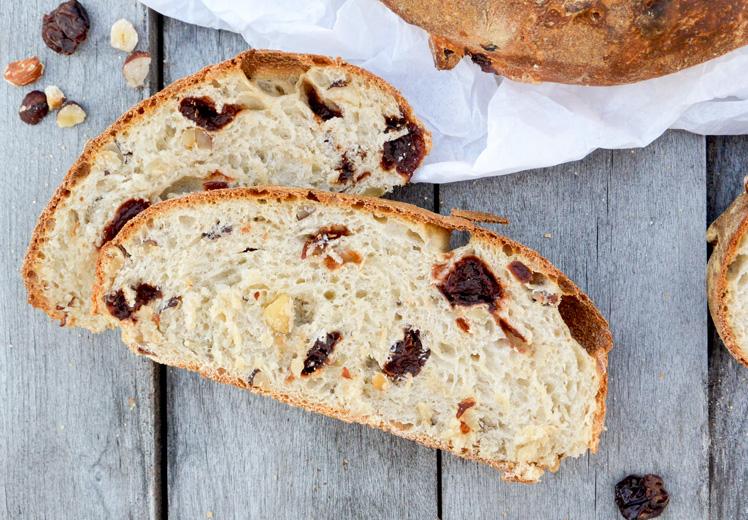 Cherry-Hazelnut Bread