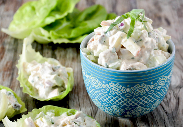 Lightened Up Chicken Salad