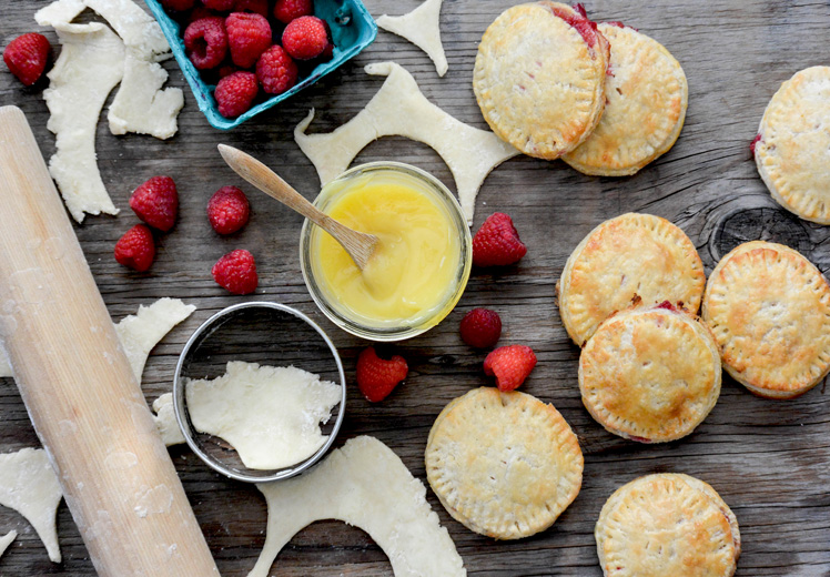 Lemon-Raspberry Hand Pies
