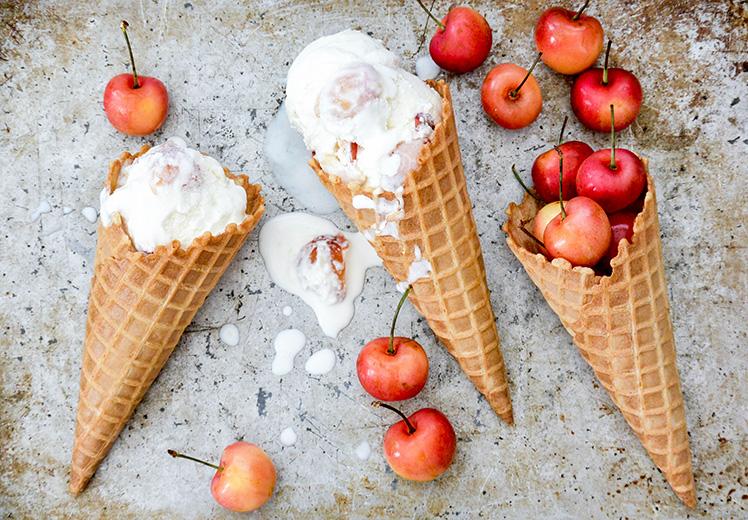 Rainier Cherry Ice Cream