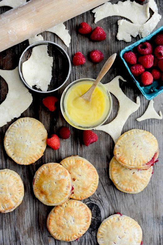 Lemon-Raspberry Hand Pies | www.floatingkitchen.net