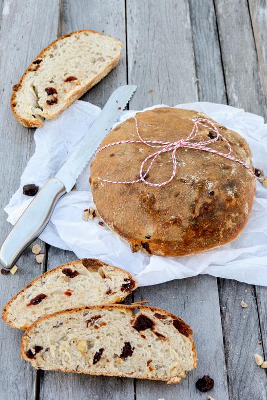 Cherry-Hazelnut Bread   www.floatingkitchen.net