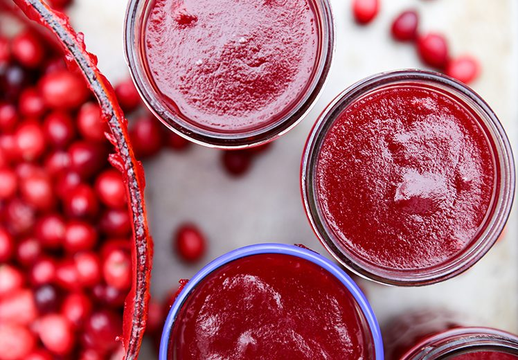 Molded Cranberry Sauce | www.floatingkitchen.net