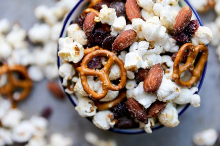 Salty, Sweet and Smoky Popcorn Snack Mix | www.floatingkitchen.net