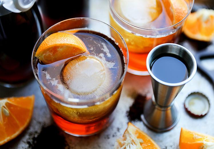Coffee Dark and Stormy {+ a recipe for Homemade Coffee Liqueur}