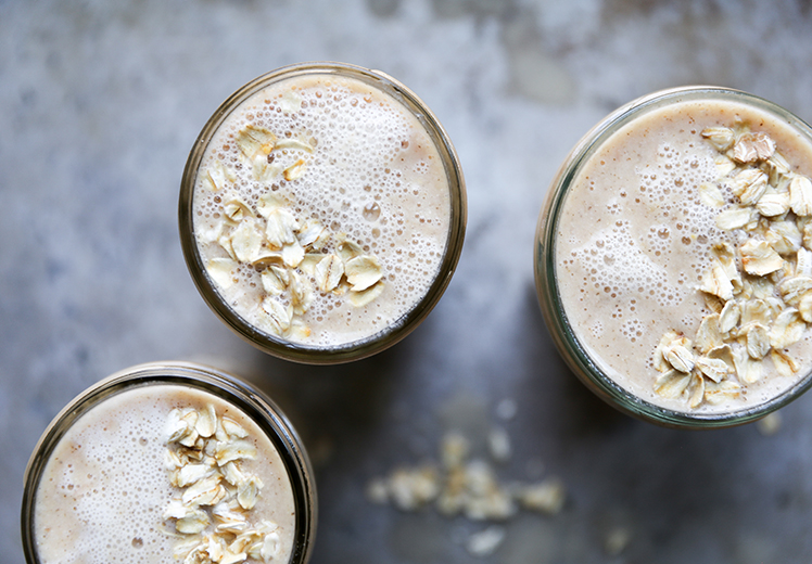 Oatmeal and Citrus Smoothie