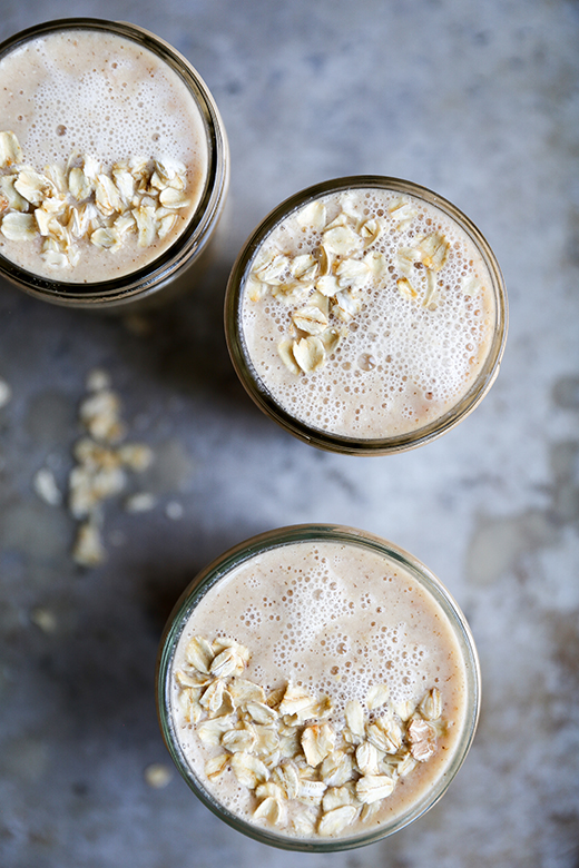 Oatmeal and Citrus Smoothie | www.floatingkitchen.net