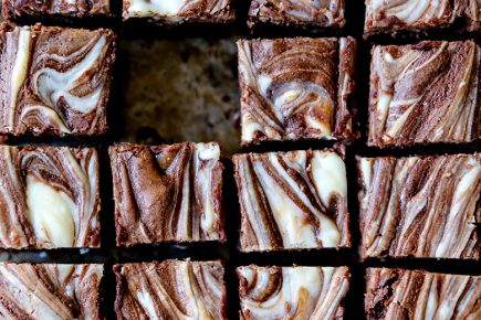 Mint Chocolate Cheesecake Brownies | www.floatingkitchen.net