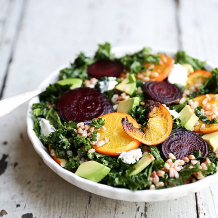 Roasted Orange and Beet Salad | www.floatingkitchen.net