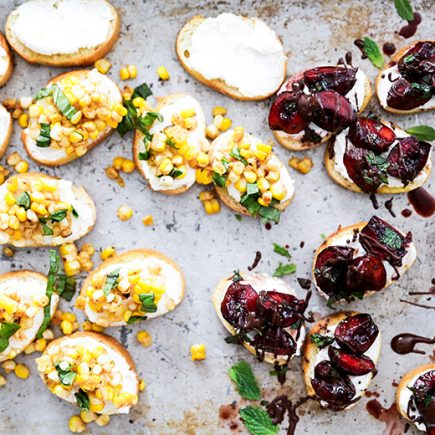 Summer Bruschetta: Two Ways | www.floatingkitchen.net