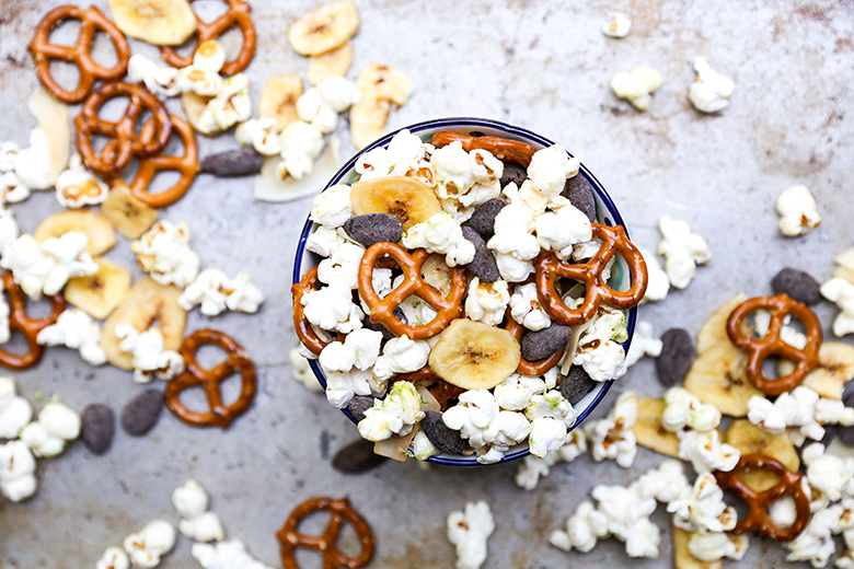 Tropical Popcorn Snack Mix