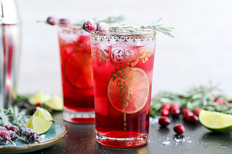 Sparkling Christmas Tree Cocktail | Floating Kitchen