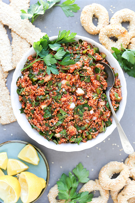Armenian Bulgur, Parsley and Tomato Salad | www.floatingkitchen.net