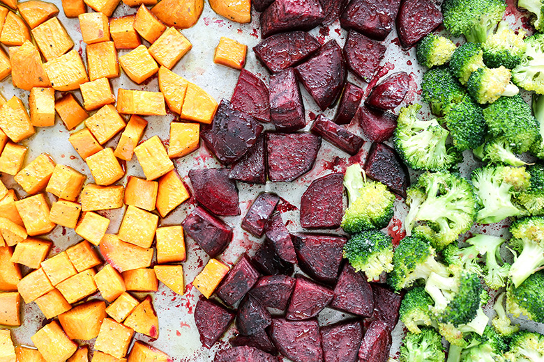 Roasted Vegetable Power Bowl | www.floatingkitchen.net