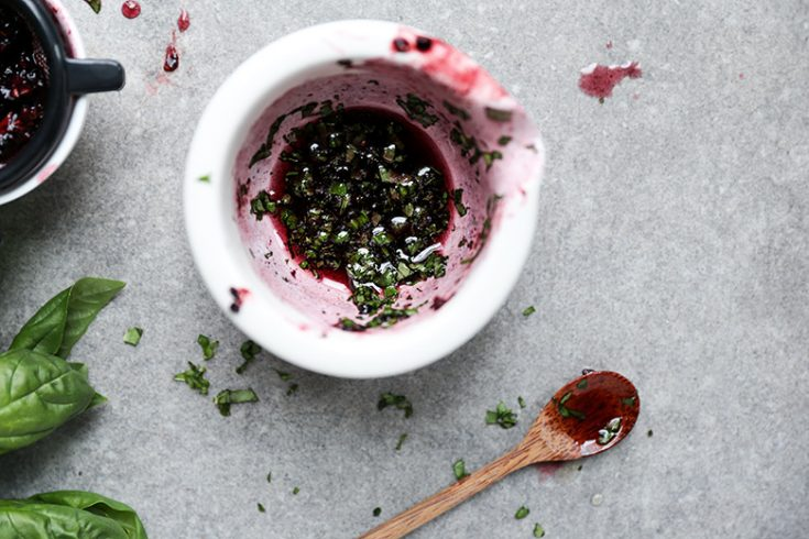 Blackberry Basil Healing Mask