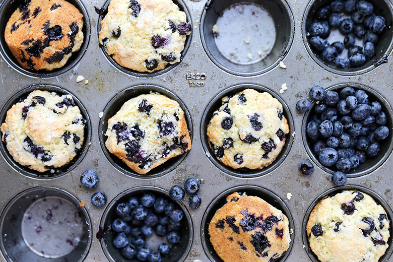 The Best Blueberry Muffins | www.floatingkitchen.net