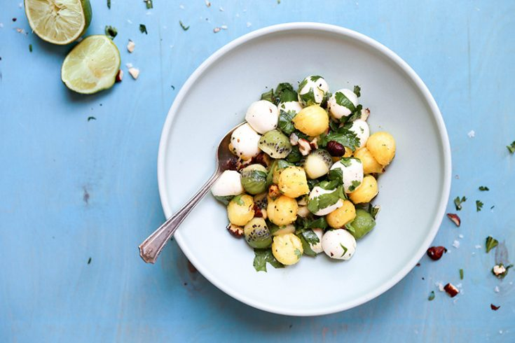 Tropical Summer Caprese Salad