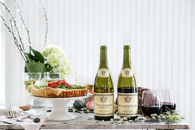 Jadot Spring Brunch Styled Shoot