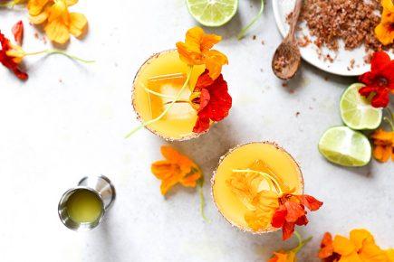 Nasturtium Margaritas | www.floatingkitchen.net