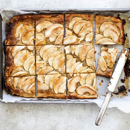 Apple Tart with Tahini Frangipane | www.floatingkitchen.net