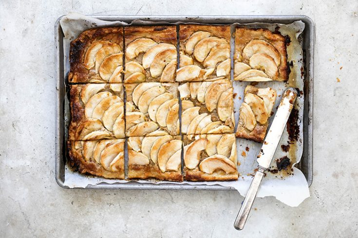 Apple Tart with Tahini Frangipane
