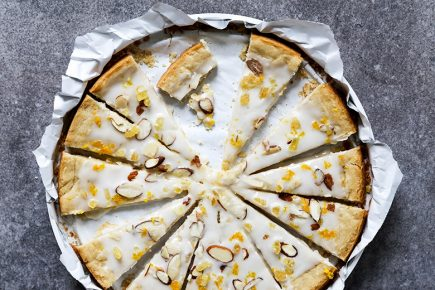 Orange, Ginger and Almond Shortbread | www.floatingkitchen.net