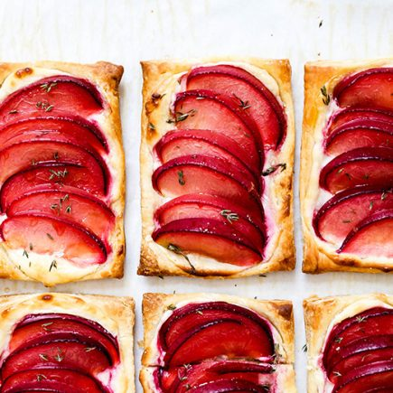 Plum Cream Cheese Breakfast Pastries | www.floatingkitchen.net