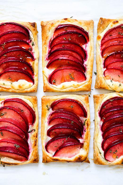 Plum Cream Cheese Breakfast Pastries | www.floatingkitchen.net