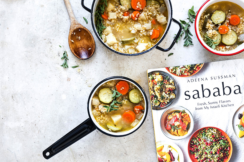 Freekeh Vegetable Soup | www.floatingkitchen.net