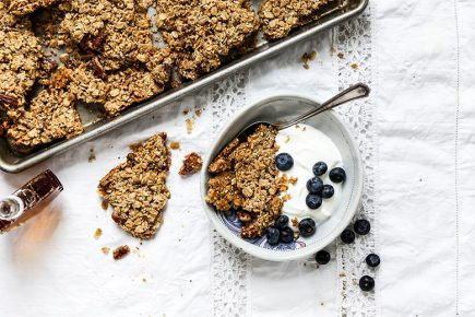 Super Chunky Maple Pecan Quinoa Granola | www.floatingkitchen.net