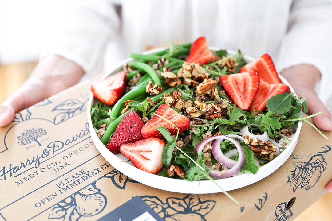 Harry and David Strawberries Salad