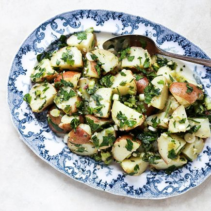 Middle Eastern Potato Salad | www.floatingkitchen.net