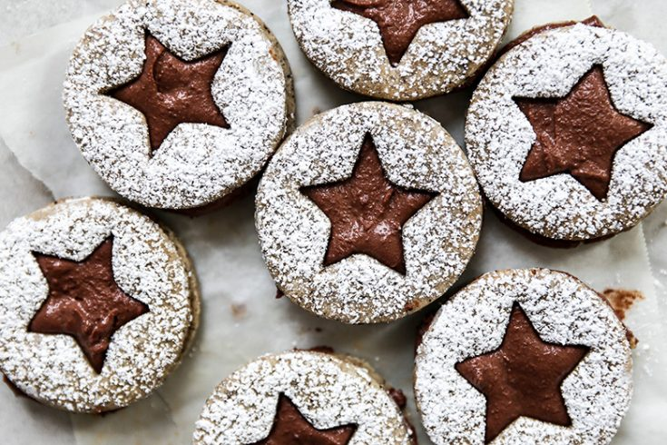 Cappuccino Chocolate Sandwich Cookies